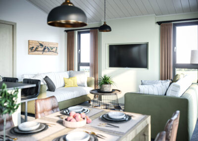 Tingdene Brampton Living room